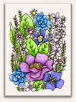 Catherine-Scanlon-stamp-Cling-Stamp-Flower-Frame-1-