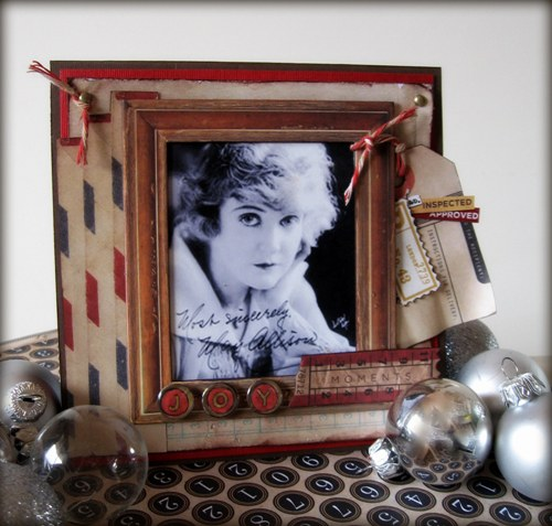 photoframe gift card class