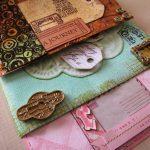 texture mixed media mail art mandy collins