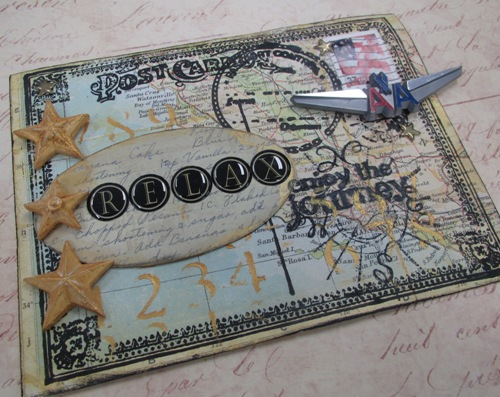 Mixed Media and Mail Art