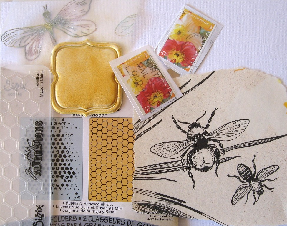 mandy collins mail art tutorial mixed media