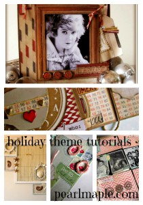 1a Collage of free holiday theme projects